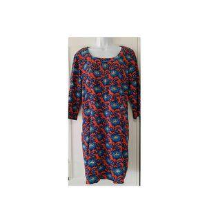 Seasalt Wagtail Cotton Cord Blue Orang shift 12